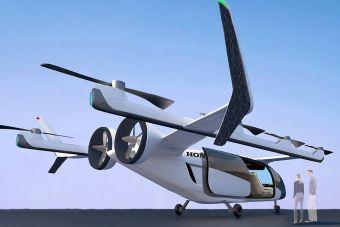 Honda заявила о разработке многоразовой ракеты и летающего такси
