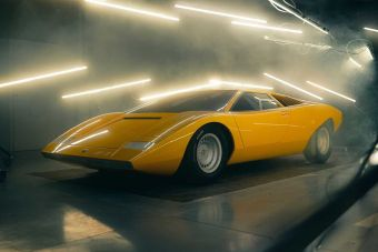 Lamborghini построила копию первого прототипа Countach 50-летней давности