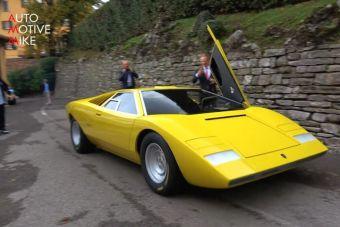 ВИДЕО: копия первого Lamborghini Countach вблизи
