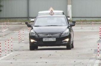 В Хакасии лишь каждый девятый кандидат в водители успешно сдает «практику»