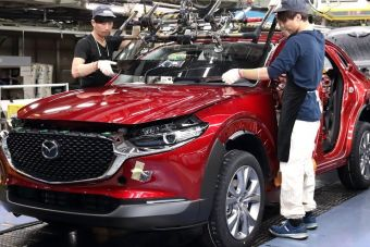 Mazda сократит производство на двух заводах в Японии