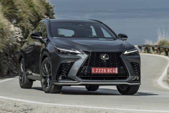 Объявлены комплектации нового Lexus NX для России