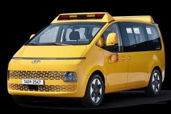 Hyundai Staria превратили в эффектный школьный автобус