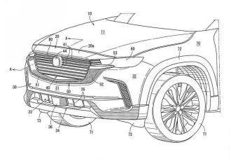 Mazda запатентовала внешность нового кроссовера на базе CX-3