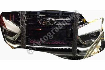 В свободном доступе опубликовали фото переднего бампера обновленной Vesta